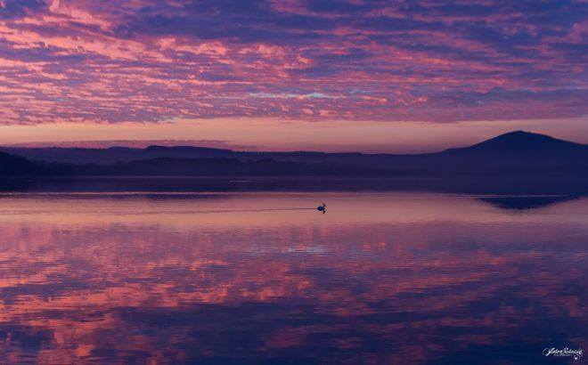 Lac au petit matin (Kenya)