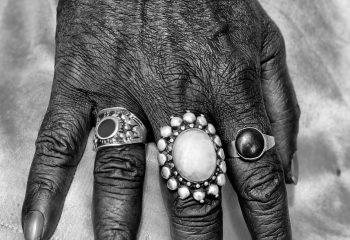 Sadhu's hand
