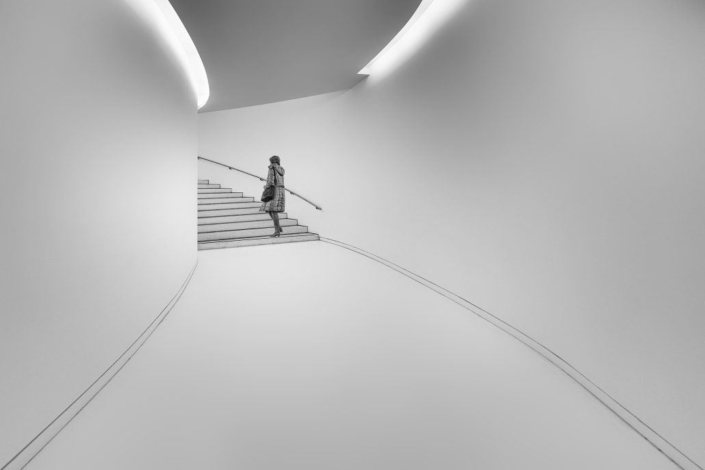 Le couloir du musée