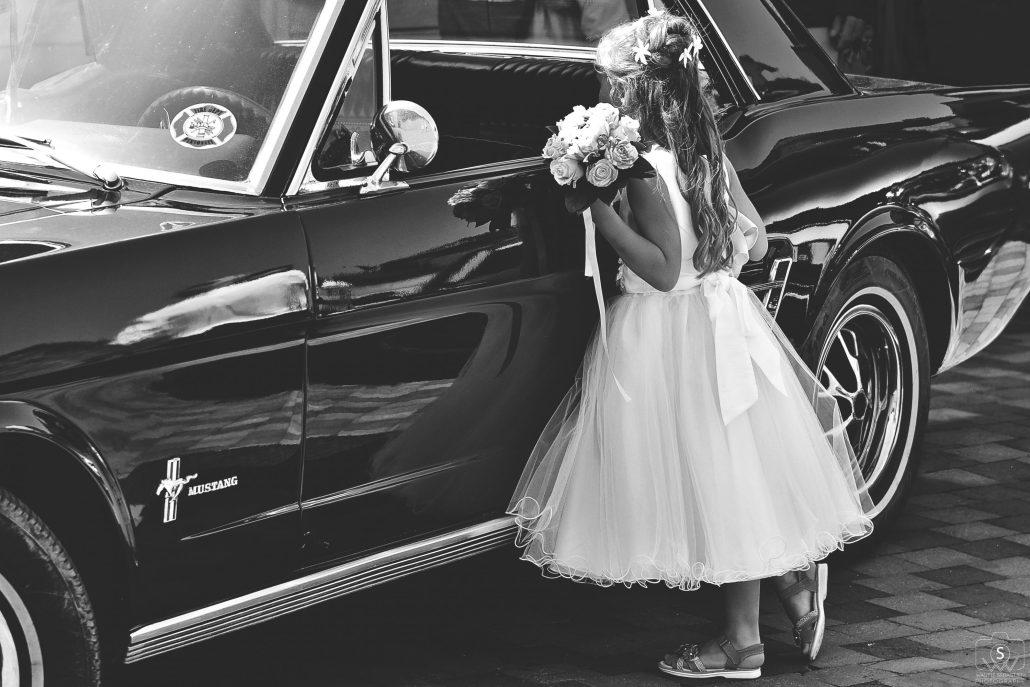La Mustang et la fille…