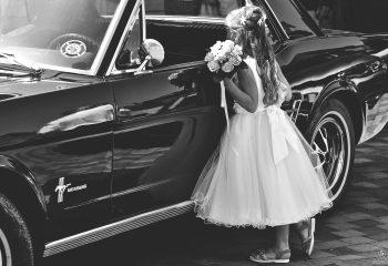 La Mustang et la fille...