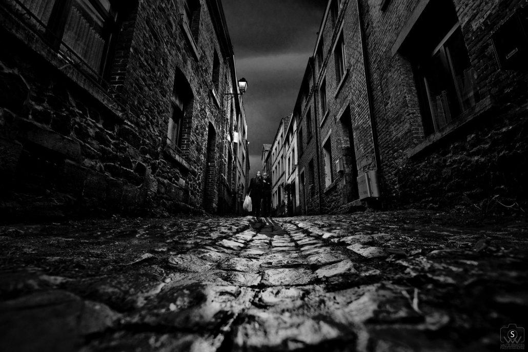 Dark cobblestone