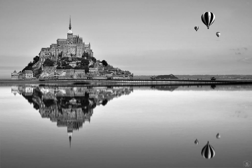 Le St-Mont en réflexion