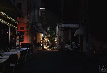 un soir dans les ruelles de Chania