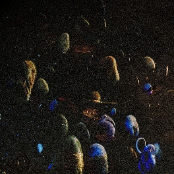 Levitating minerals at twilight