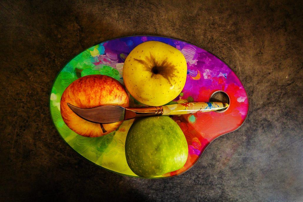 Palette de fruits