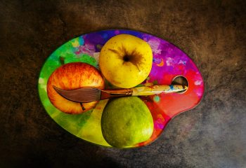 Palette de fruits