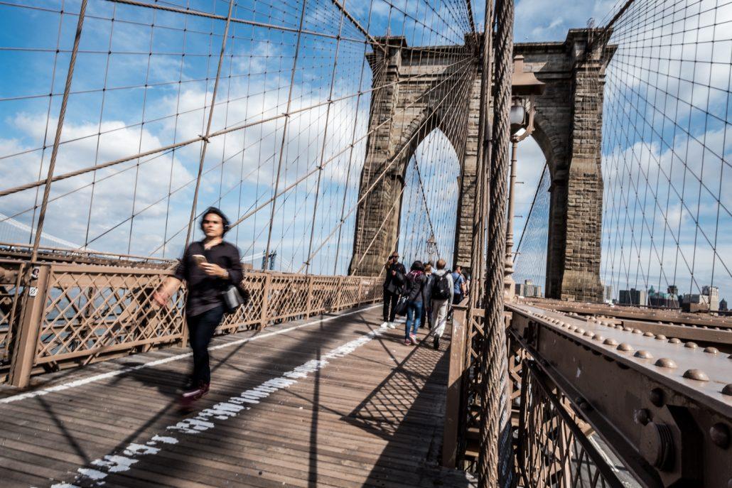 Balade sur le Pont de Brooklyn