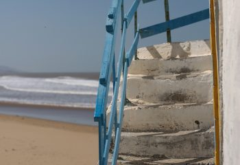 Stairs on sand