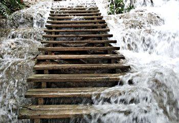Laos, les chutes de Kuang Si