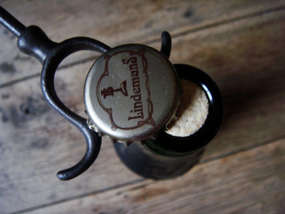Bière à la framboise