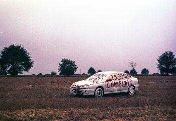 White trash car & purple mood