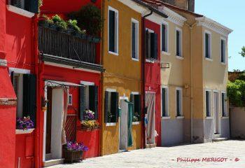 Philippe MERIGOT - ITALIE - Burano