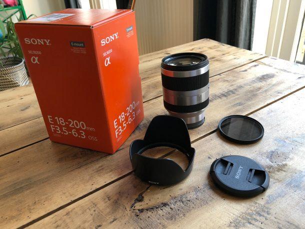 Sony SEL 18-200 mm F3.5-6.3
