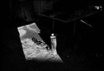 A l'ombre