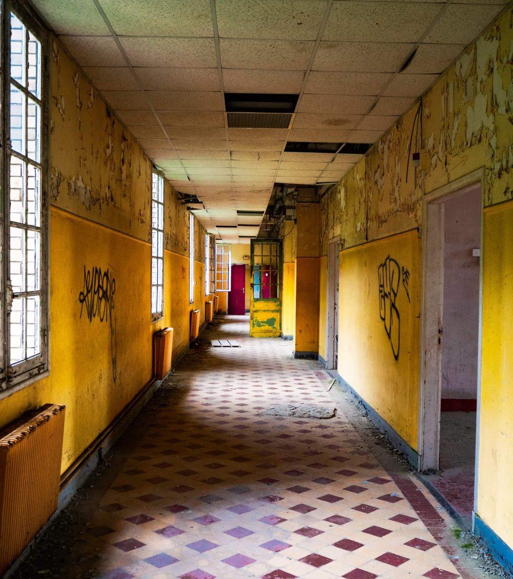 Le couloir…