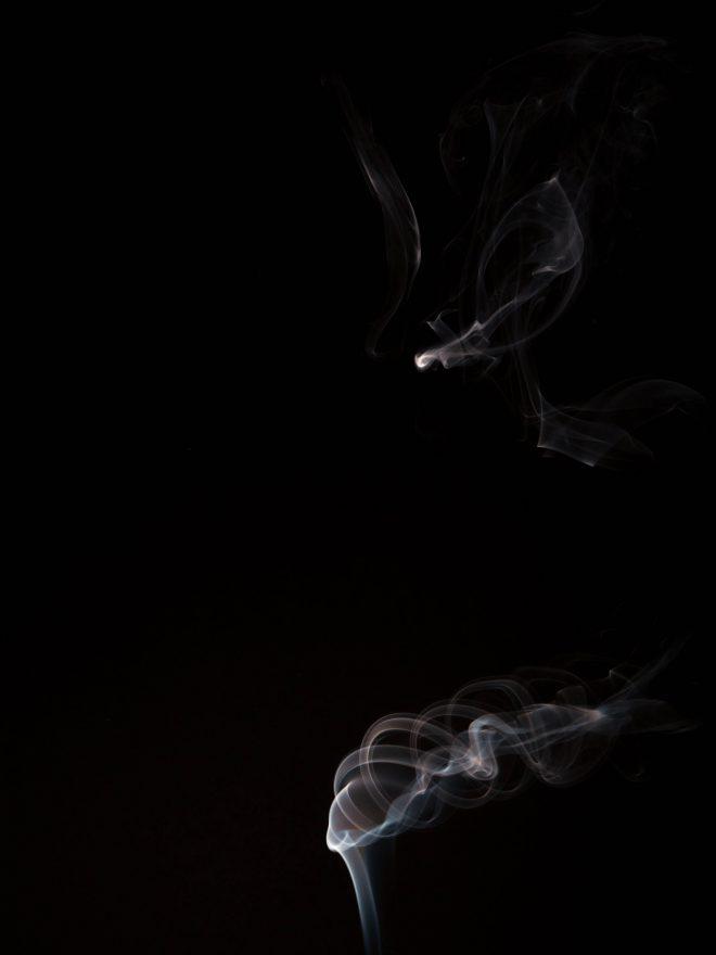 Spiral fumée