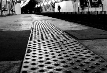 Station de métro Cité, Paris.