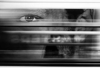 Le marcheur du quai de métro