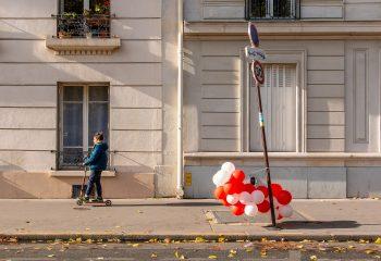 Léger vent sur Paris