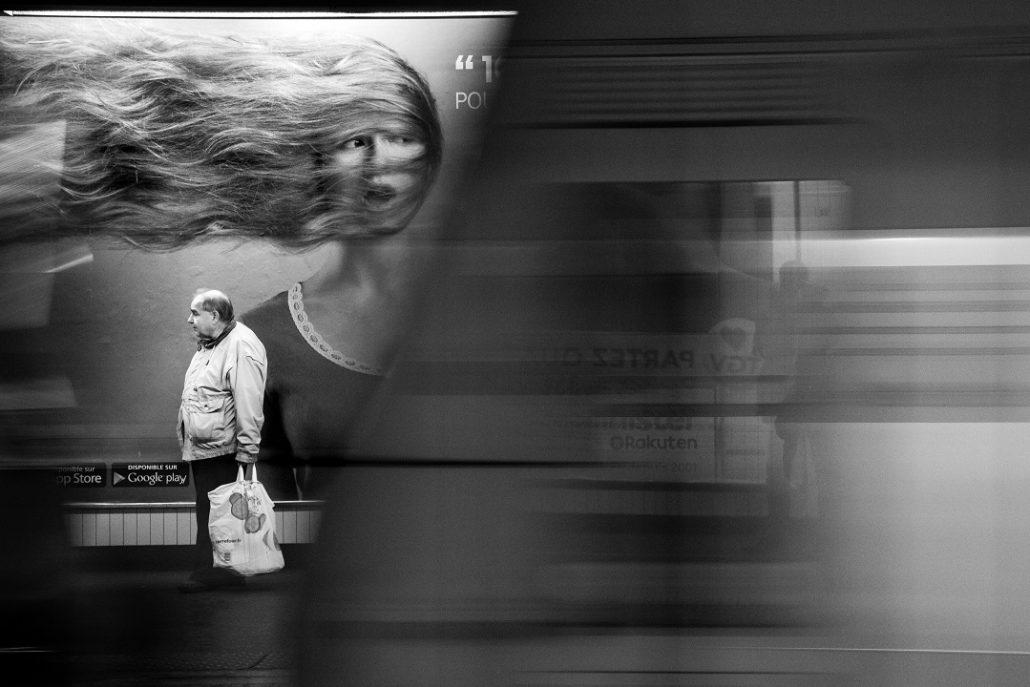Le passage du train