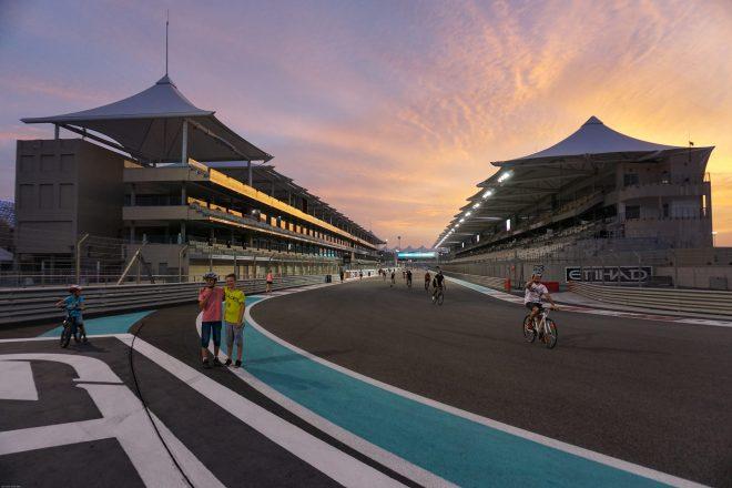 F1 Yas Marina Circuit