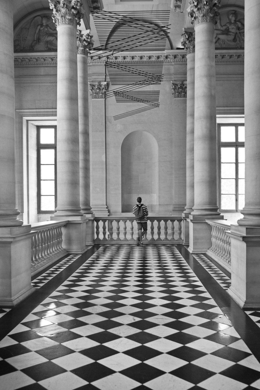Le visiteur du Louvre