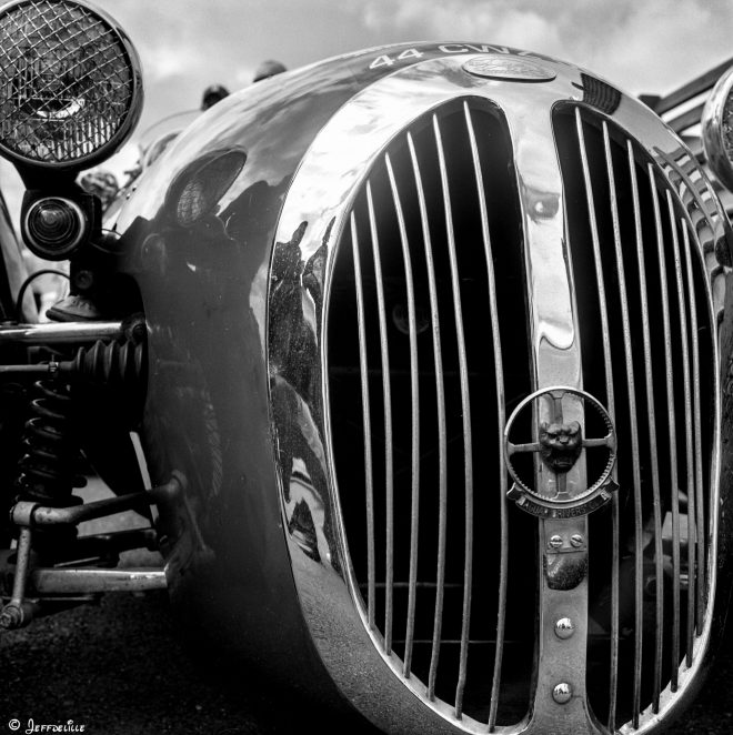 Jaguar rouge !
