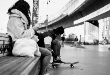 Skate park, Lille, Fr.