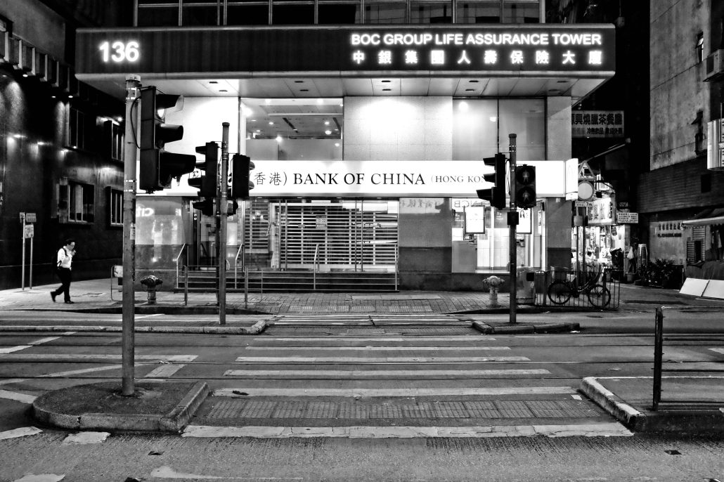 BANK OF CHINA – HONG KONG