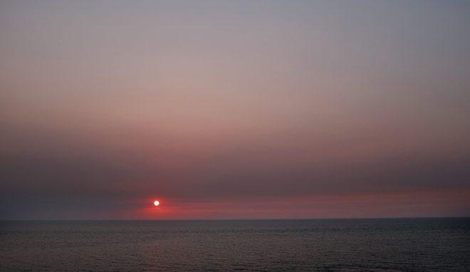 Sundown in  East-Java