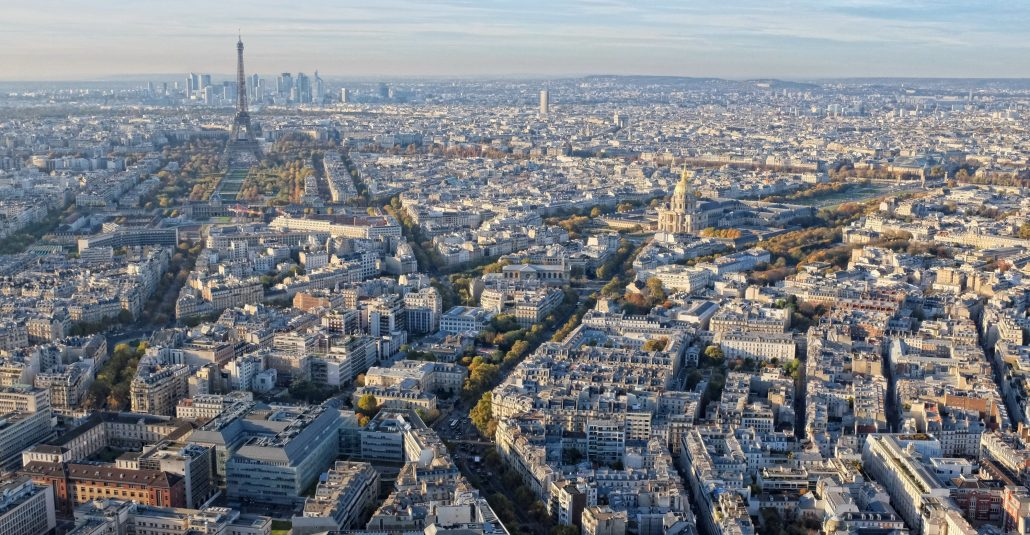 Depuis Montparnasse