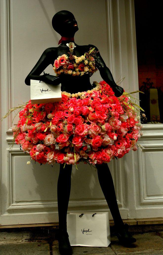 La petite robe a fleurs