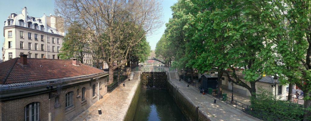 L'écluse du canal Saint Martin