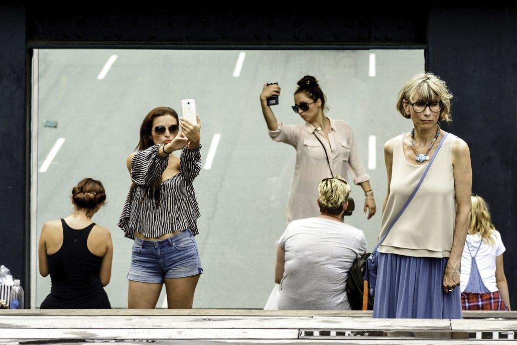 selfies new-yorkaises