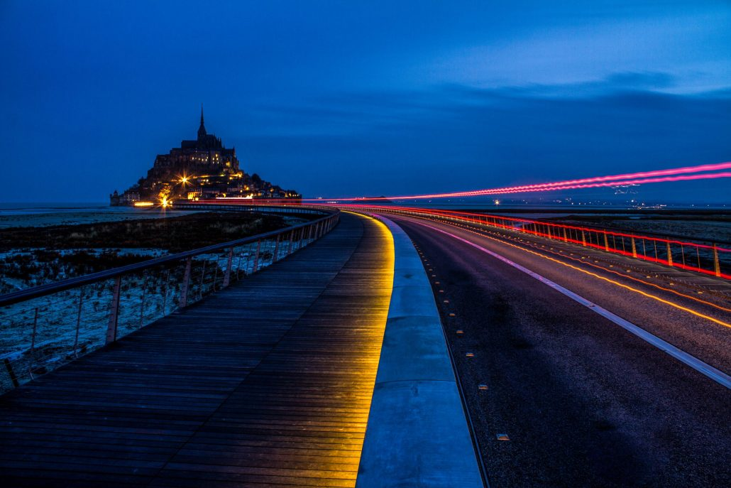 Le Mont-ST-Michel By night