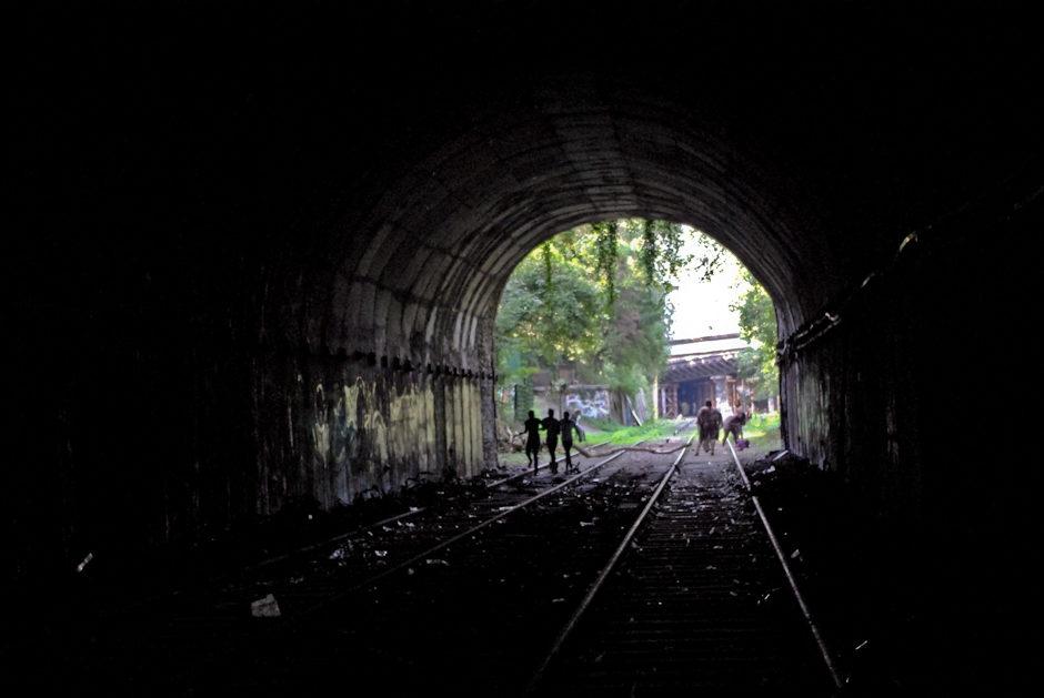 Petite ceinture – Tunnel