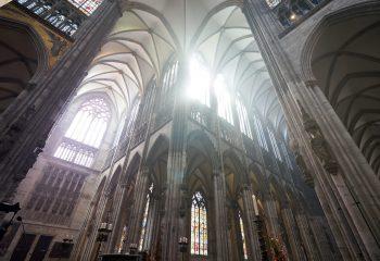 Lumière dans la nef