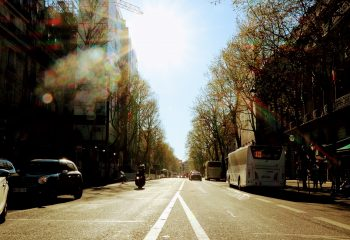 Beau soleil parisien