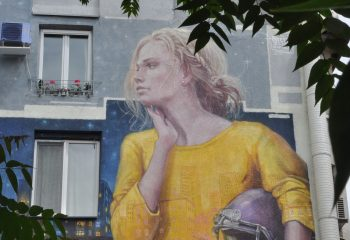 Wall woman