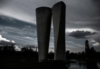 double château d'eau