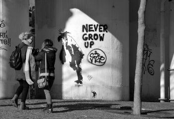 Grafittis at Beaubourg PARIS
