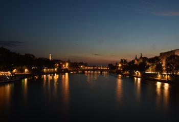 PARIS Sunset on the River SEINE