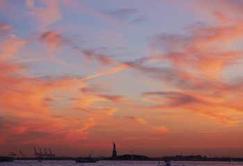 sunset of liberty