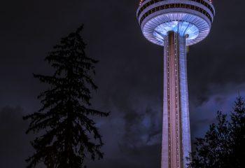 a) Skylon Tower b) UFO C) Stéphanie de Monaco ?