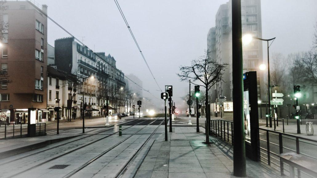 Dans la brume du matin