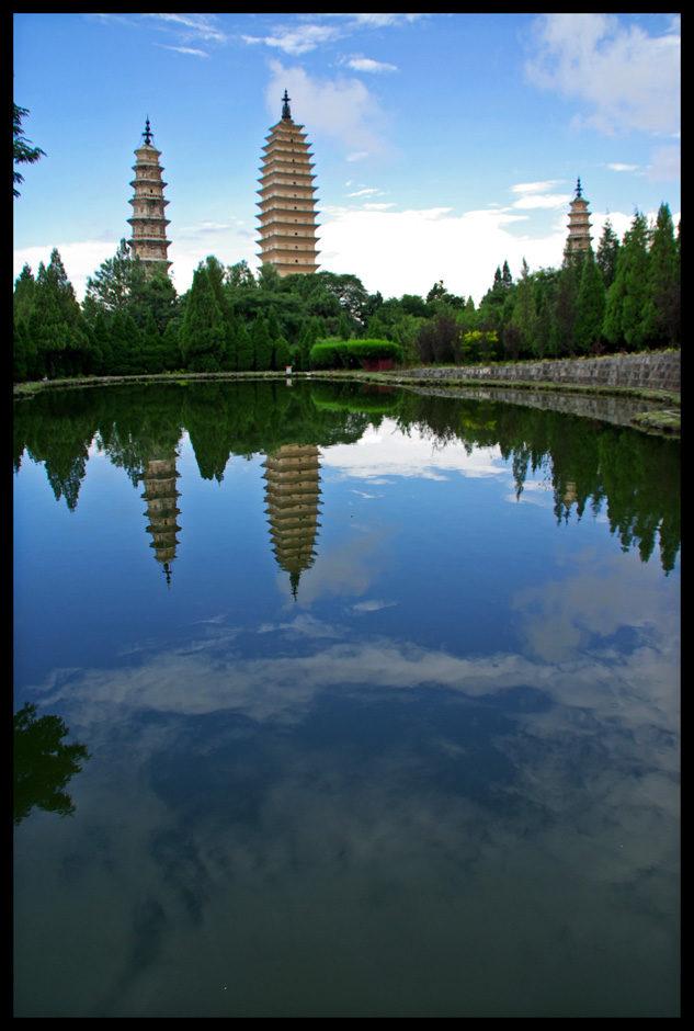 Dali, temple aux 3 pagodes