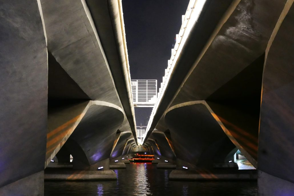 Singapour under the bridges