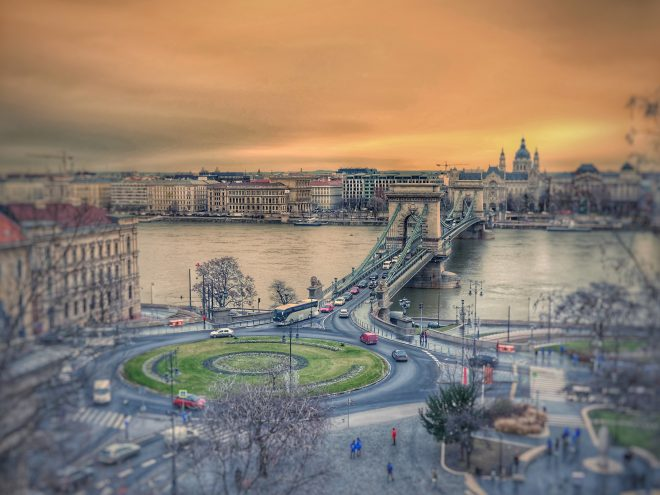 Or sur Budapest