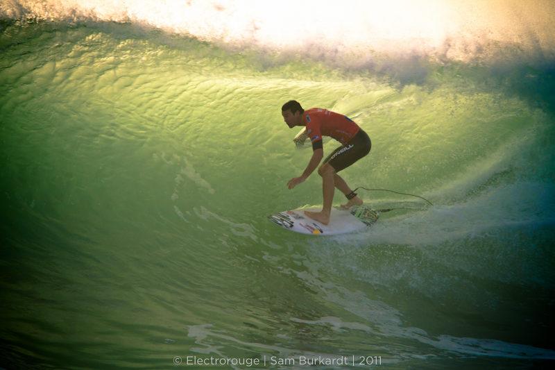 Ripcurl Pro Portugal 2011 – Jordy Smith – Tube riding